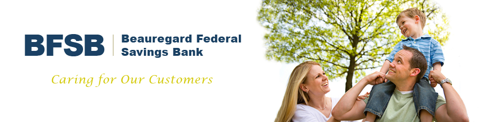 Beauregard Federal Savings Bank - Welcome